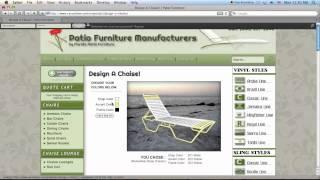 Patio Furniture - Choosing Colors!
