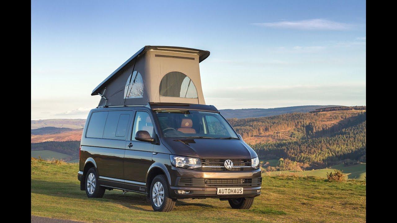 vw t6 campervan chestnut brown autohaus 39 ashton 39 model youtube. Black Bedroom Furniture Sets. Home Design Ideas