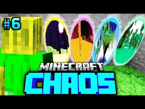 WÄHLE dein PORTAL?! - Minecraft CHAOS #06 [Deutsch/HD]