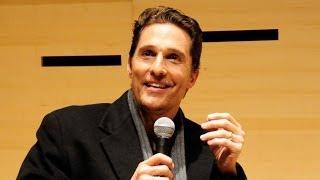 Repeat youtube video Matthew McConaughey Talks True Detective