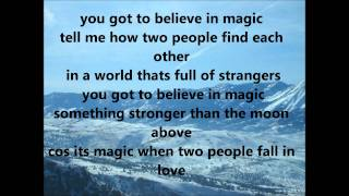 Side A - Got To Believe In Magic (with lyrics)