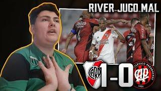 River vs. Paranaense 1-0   Reacciones de un Hincha De Boca   Octavos VUELTA - Libertadores 2020