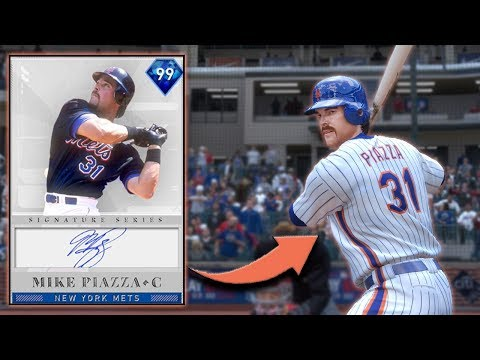 *99* MIKE PIAZZA JOINS GOD SQUAD! I MAY HAVE BEEN WRONG.... MLB THE SHOW 19 RANKED SEASONS