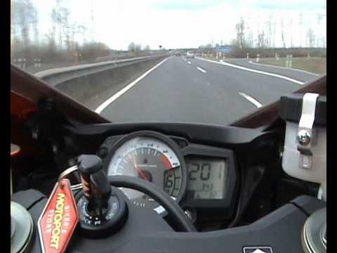 Suzuki GSX-R 600 Top Speed