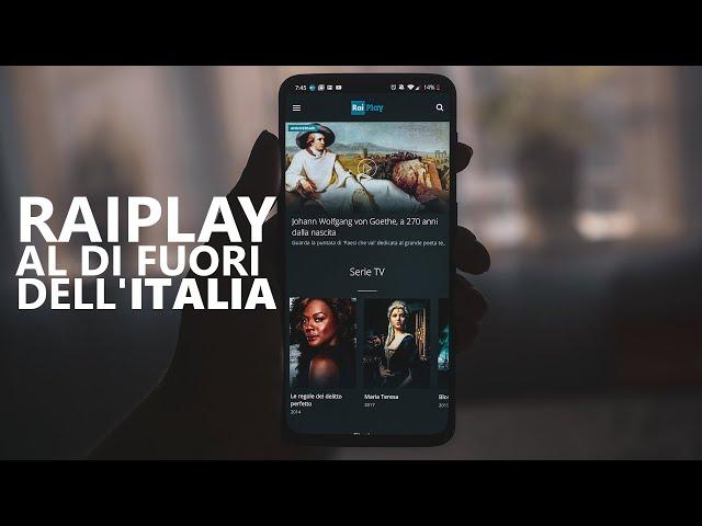 Come accedere a RaiPlay al di fuori dell'Italia (funziona su tutti i principali dispositivi)