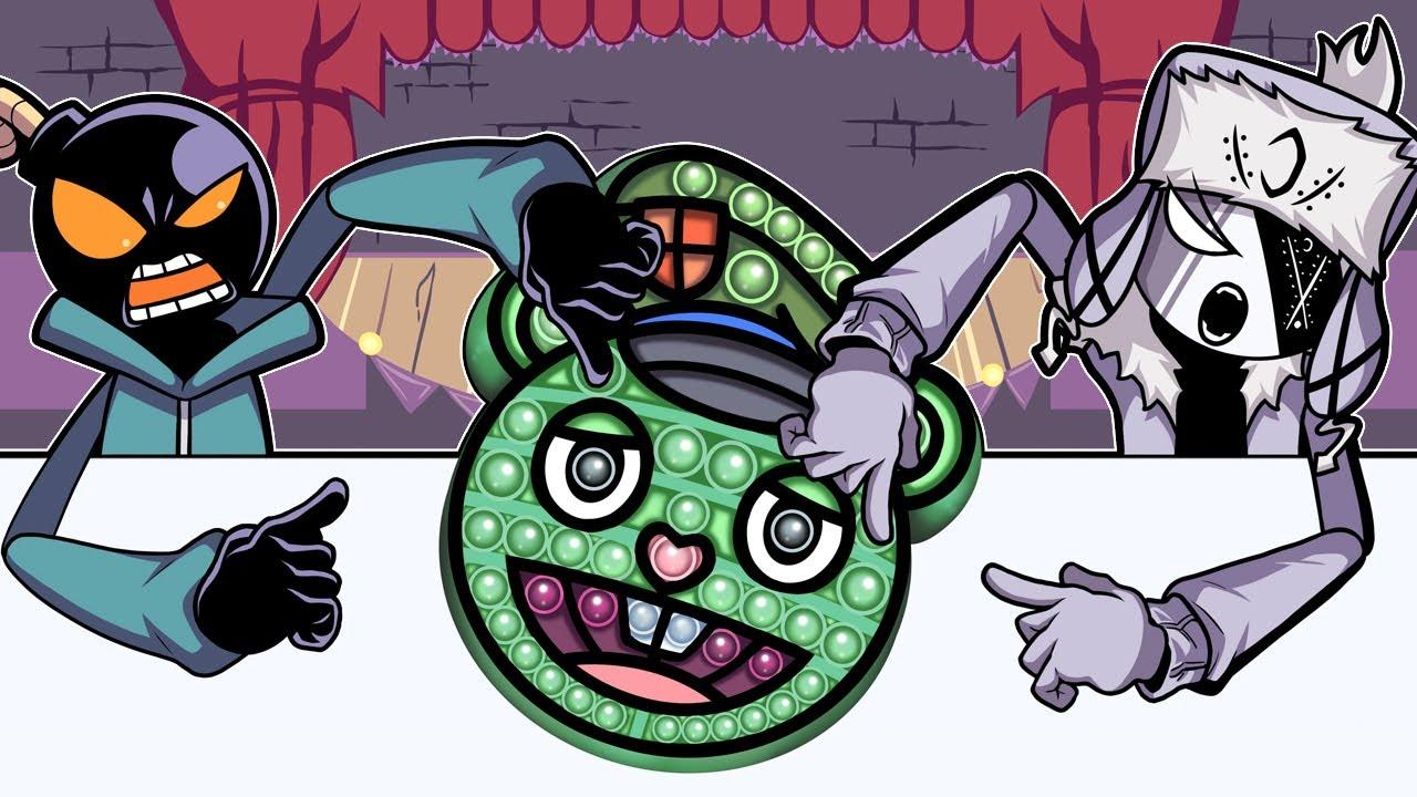 Pop it Battle Challenge Flippy Friday Night Funkin Animation