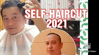 Easiest Self-Haircut 2021//How t๐ cut your own Hair//jhoe benz tv
