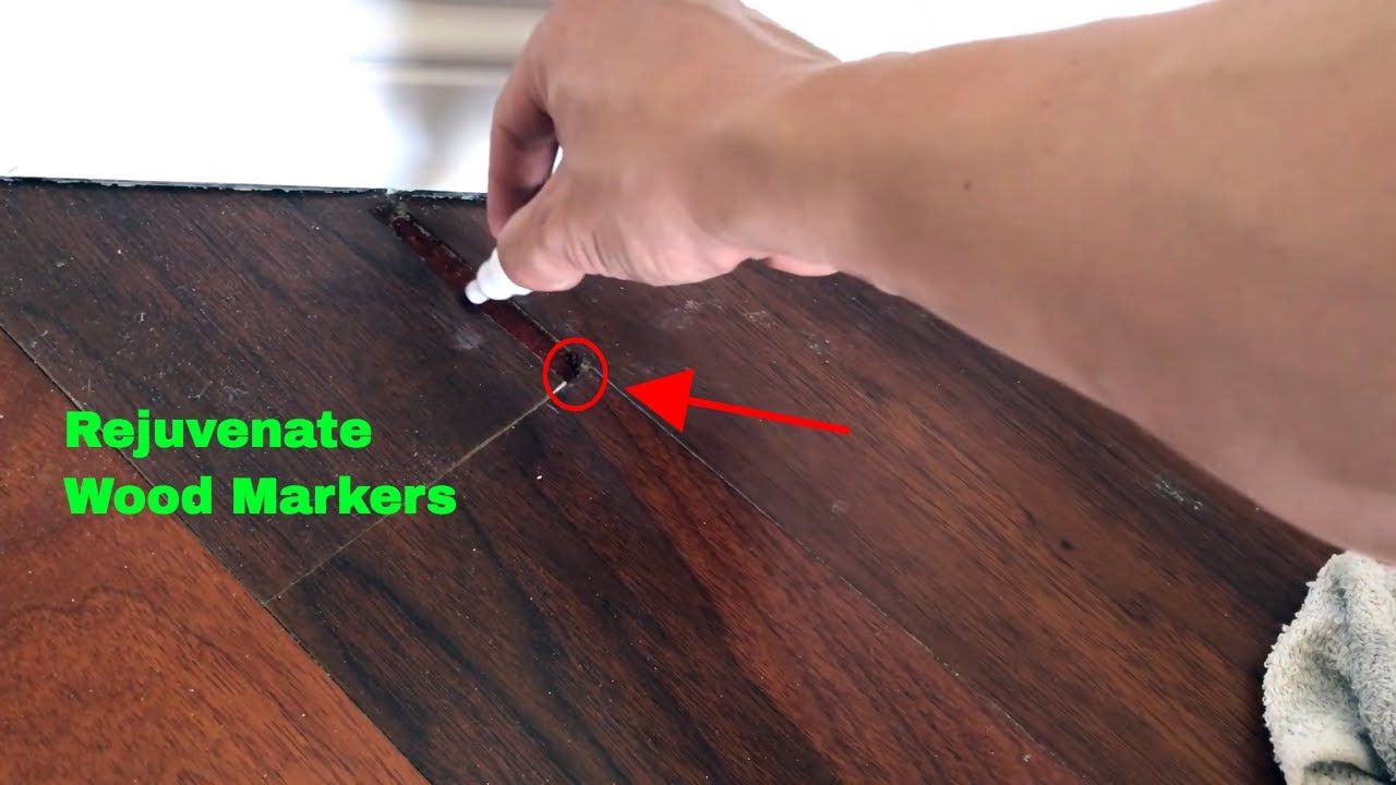 How To Use Rejuvenate Wood Markers Review