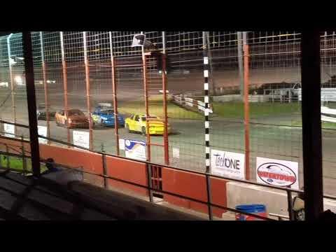 Dustin Virkus @ Madison Speedway- Heat 9.29.17