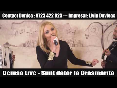 Denisa Live Mix Fetele mele,Sunt dator la Crasmarita (videoclip original)2016
