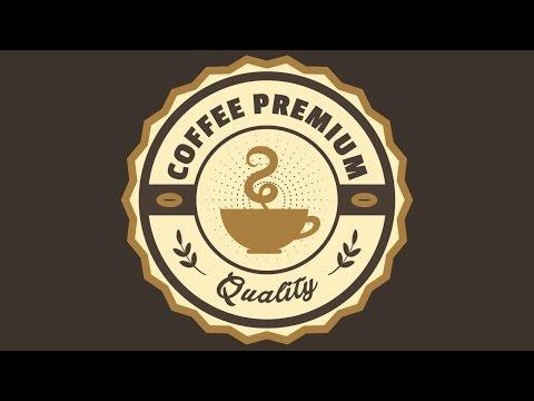 Creating a Coffee Premium Label  Design Using Free Fonts - Coreldraw Tutorials