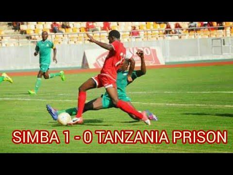Full Time : SIMBA FC 1 - 0  TANZANIA PRISON FC