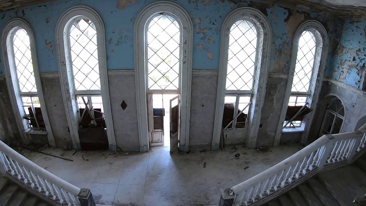 Заброшки Абхазии  Пансионат Грузия