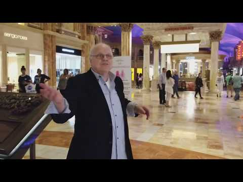 Las Vegas - Forum Shops / Caesars Palace  Hotel Casino with Paris and Singer Dr. B... Episode 06 -