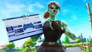 The *BEST* Fortnite Controller Settings/Edit Binds | Ghost Assault's Fortnite Season X PS4 Settings