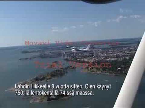 World Flying Adventure - Finland, Helsinki interveiw