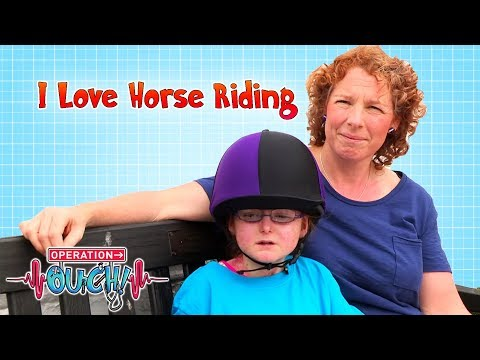 I Love Horse Riding | Operation Ouch | Science for Kids
