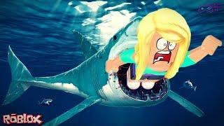 ROBLOX: SharkBite-Help the Shark! 😫 (Helen Gamer HL)