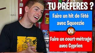 TU PRÉFÈRES ! (Version Youtube)