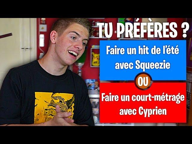 TU PRÉFÈRES ! (Version Youtube)