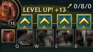 League of Legends but you can only level an ability if you get a kill