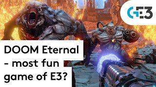DOOM Eternal is BRUTAL - the goriest fun of E3?