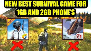 New Best Survival Game for 1Gb and 2gb ram Phones | Better Than Pubg lite