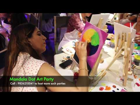 Mandala Dot Art Party Review : Surat