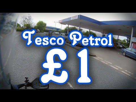 Tesco petrol for £1.00 !!! - RevvedUpBiker