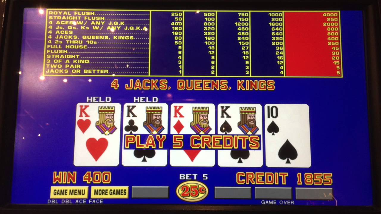 Video Poker Jackpot! Big Wins - Royal Flush - YouTube