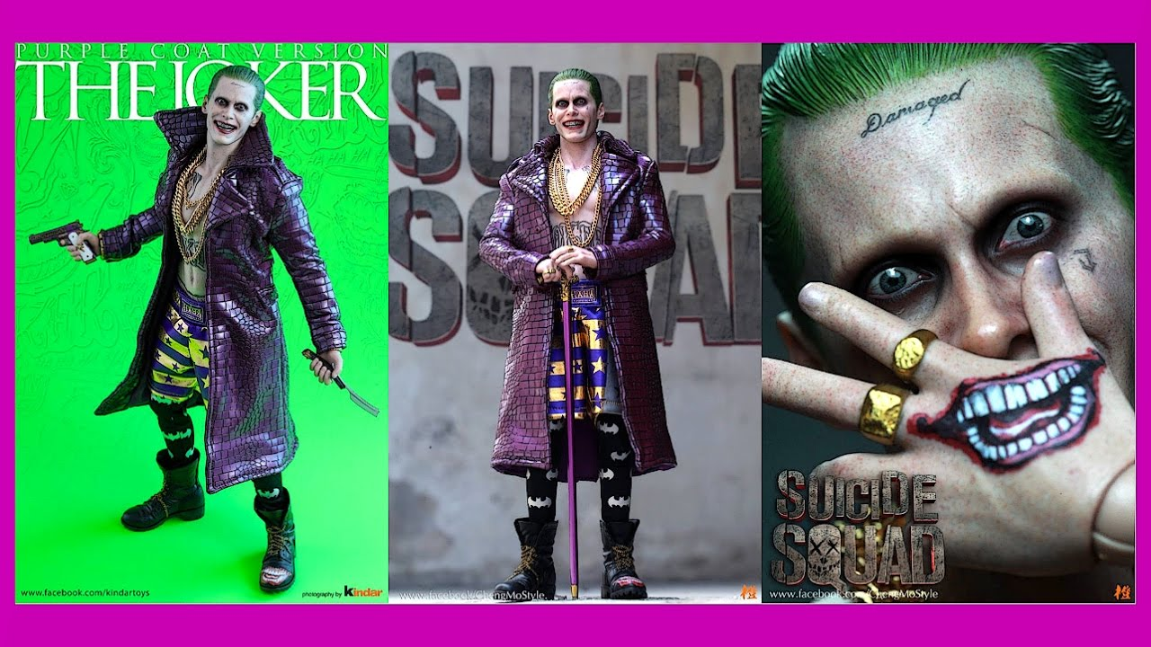 osw.zone toys Suicide Squad Joker ( Purple Coat Version ) Final Product Blogger pictures...