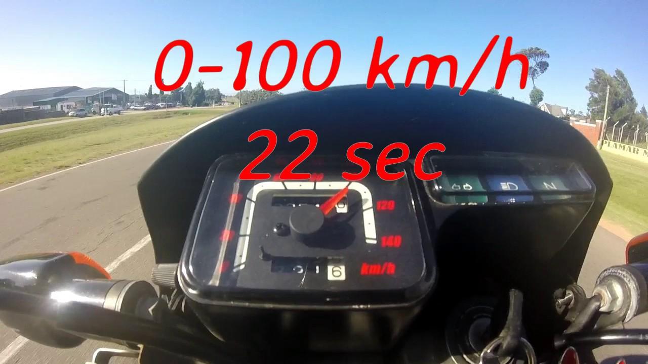 Top Speed Honda Xr 125 Youtube