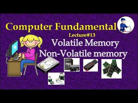 Computer Fundamental #13 Volatile And Non Volatile Memory (Hindi)