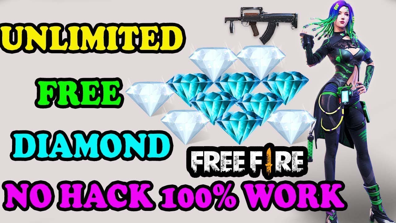 Free Fire Unlimited diamond No hack || Unlimited free diamond || Run Gaming