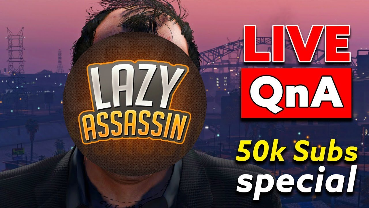 50k Subs Special QnA Livestream   Thanks Alot for 50k Subscribers