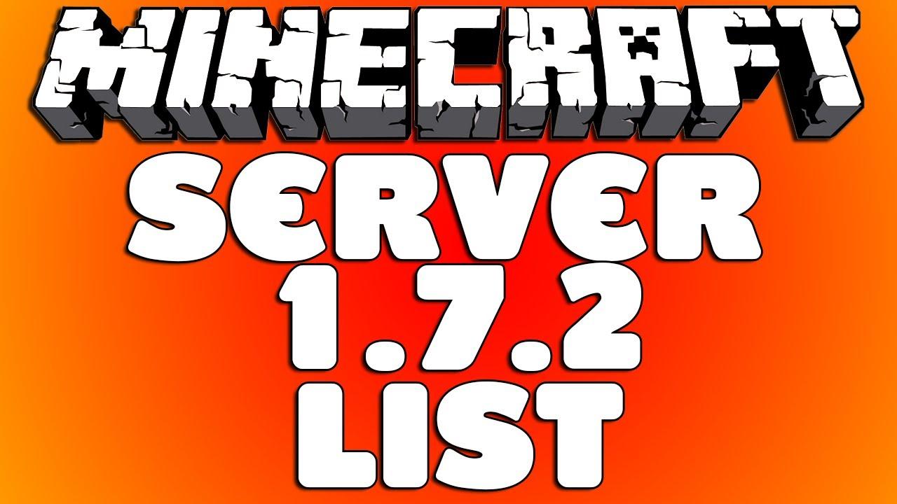 minecraft serveri 1.7.2