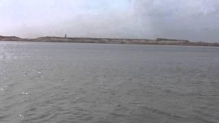 قناة السويس الجديدة : أول ملامح للقناة الجديدة والمياه بداخلها بالقطاع الاوسط