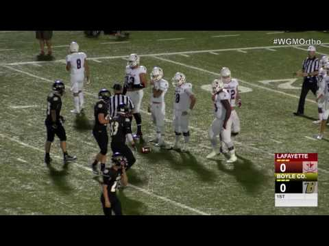Lafayette at Boyle County - High School Football
