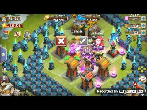 Castle Clash: HBM R Revisited On JDHDJ Account - TH 21