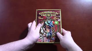 Dungeon Twister Card Game Unboxing with Strategywizard