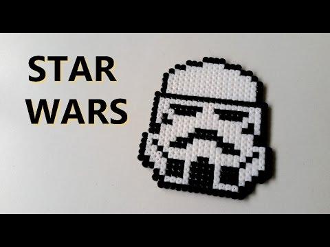 Diy Star Wars Perles Hama Perler Beads Star Wars