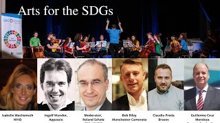 Virtual SDG Champions conference 2020 - Arts for the SDGs