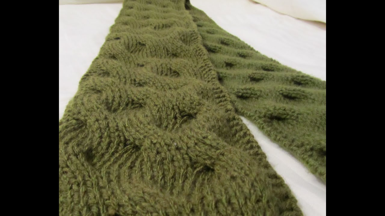 Reversible Knitting Patterns For Scarves New Inspiration Design