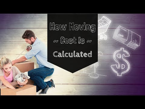 How Moving Companies Calculate Your Moving Costs