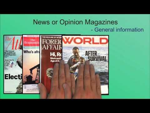 Four Types of Periodicals