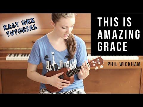 This Is Amazing Grace Ukulele Tutorial Youtube
