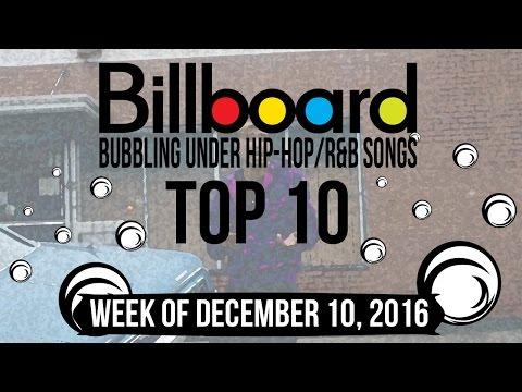 Top 10 - Billboard Bubbling Under Hip-Hop/R&B Songs | Week of December 10, 2016