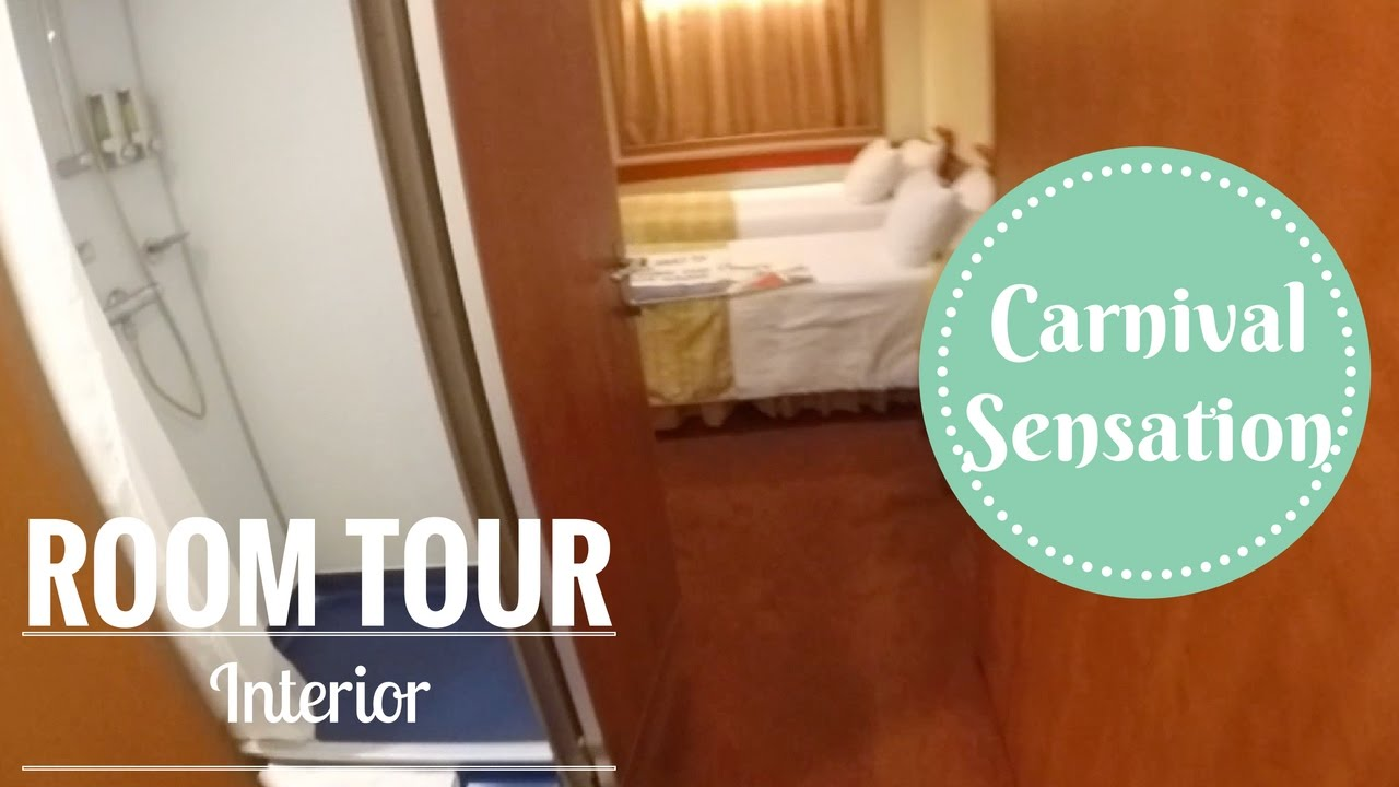 Carnival sensation interior stateroom tour youtube - Carnival sensation interior rooms ...