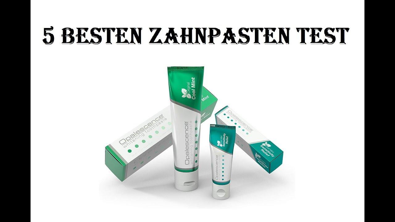 5 Besten Zahnpasten Test 2020