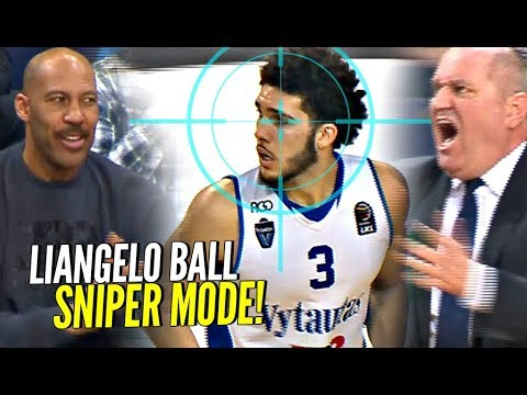 LaMelo Gets NO LOVE? LiAngelo Ball SNIPER Mode Helps Vytautas Get The Big W!!